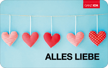 Give-Card Alles liebe