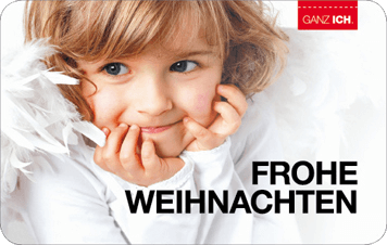 Give-Card Frohe Weihnachten 1
