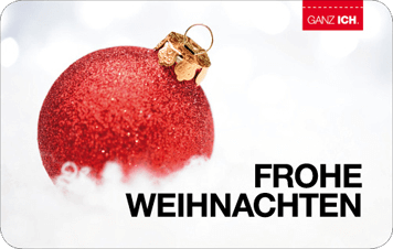 Give-Card Frohe Weihnachten 2